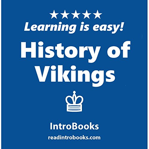 History of Vikings audiobook cover art