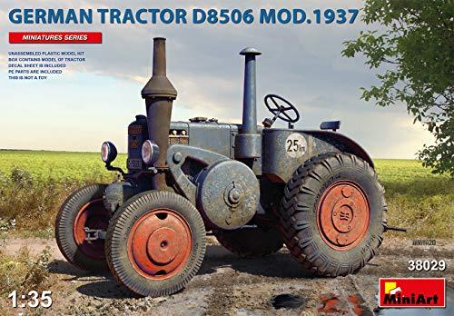 Miniart 38029-1/35 ドイツトラクター d8506 mod.1937 スケールモデルキット