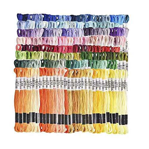 ルシアン コスモ刺繍糸 25番刺しゅう糸 全色1束 計500束セット