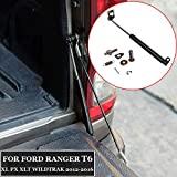 OBCWSG pour Ford Ranger T6 12-16, Les Barres durables en Acier du hayon Amortisseur prennent en Charge Le hayon arrière Facile à Installer, ralentir l'amortisseur de Camion