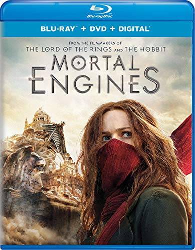 Mortal Engines (Blu-ray + DVD + Digital)  $5 at Amazon