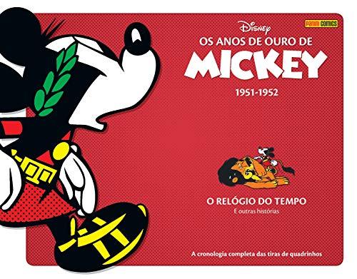 Os Anos De Ouro De Mickey Vol. 6 - O Relógio Do Tempo