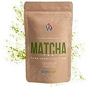 Matcha Tea in Polvere - Tè Verde Matcha Puro Premium 50gr Polvere - Integratore Energia e Detox Naturale - The Matcha Giapponese ideale per Cucina, Tisane Detox, Infusi Freddi, Dolci - WeightWorld