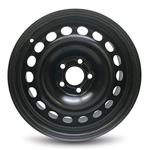Road Ready Car Wheel for 2008-2009 Saturn Astra Steel 16 Inch 5 Lug Full Size Spare 16' Rim Fits R16 Tire - Exact OEM Replacement - Full-Size Spare