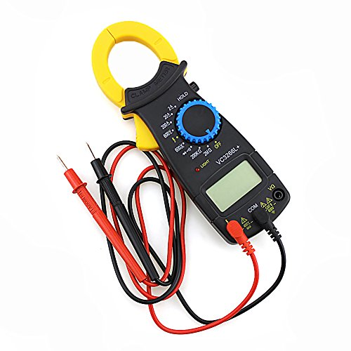 cuigu Amperemeter Digitales Zangenamperemeter AC DC Voltmeter Ampere Ohm Tester Elektronische Meter