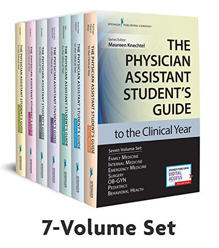 Compare Textbook Prices for The Physician Assistant Student's Guide to the Clinical Year Seven-Volume Set: With Free Online Access 1 Edition ISBN 9780826195210 by Knechtel MPAS  PA-C, Maureen