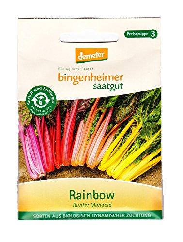 Bingenheimer Saatgut - Mangold Rainbow, bunter Stielmangold (Saatgut) - 1 Tüte