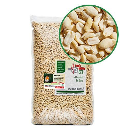 Paul´s Mühle Erdnüsse Weiss, Erdnusskerne blanchiert ohne Haut, 5 kg
