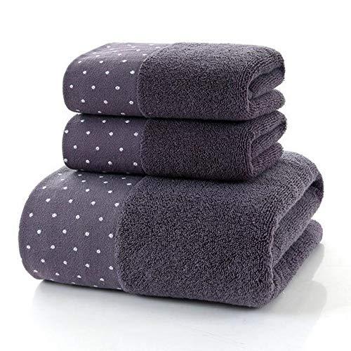 Heliansheng Baño Familiar para Adultos Hotel niños Toalla Grande de Ducha de baño de algodón Toalla Gruesa -B9-35x75cm