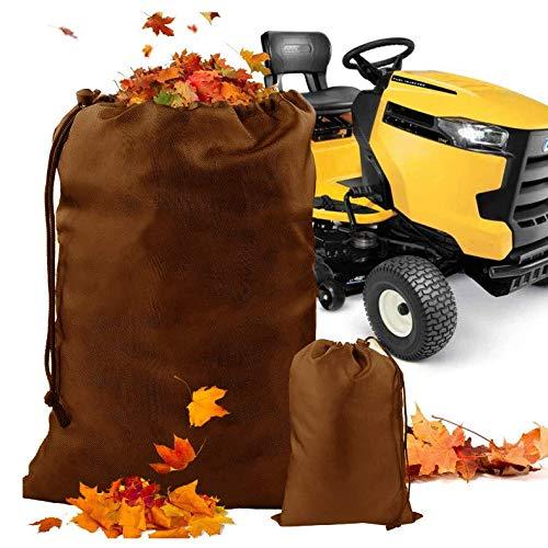 Famboo Rasentraktor-Laubsack, 54 Kubitfüße, für den Garten, Aufsitzrasenmäher, große Kapazität, schnelle und einfache Gartenlaub-Reinigung, universelle Passform, zum Sammeln von Blättern
