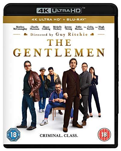 The Gentlemen 4K UHD [Blu-ray] [2020]