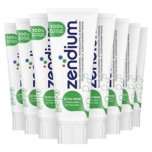 Zendium Extra Fresh Tandpasta 12 x 75 ml Voordeelverpakking
