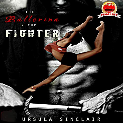The Ballerina & The Fighter audiobook cover art