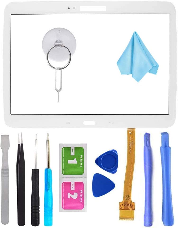 White Touch Screen Digitizer for Samsung Galaxy Tab 3 10.1