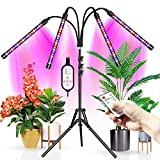 WOLEZEK Grow Lights with Stand, 80Leds Plant Light Full Spectrum with Dual Controllers for Indoor Plants,Grow...