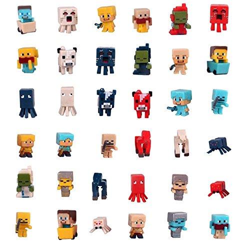 Baky Party Gift for Kids Mini Figure 36 Set 1 Inch (I)