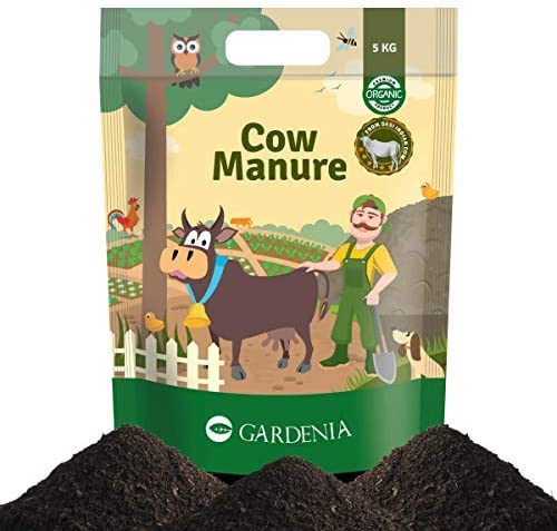 Ugaoo Cow Manure 5 Kg - Organic Fertilizer for Home and Garden Plants
