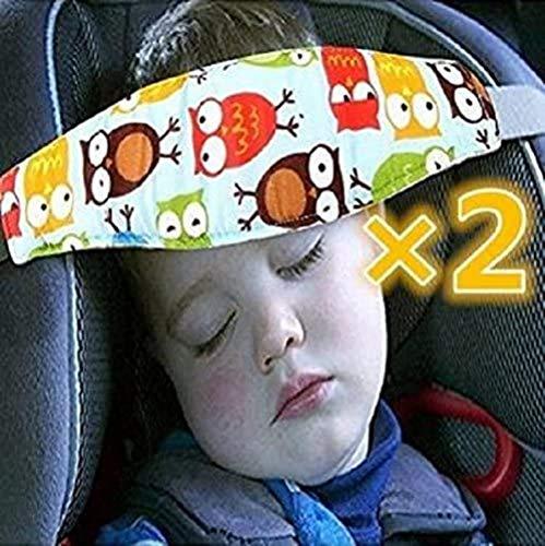 Aoxintek Perceel 2? Leuke Uil Printing for kinderen en het hoofd for de baby kinderwagen Holder verstelbare stoel veiligheid wandelwagen Belt Park handschoen polshorloge