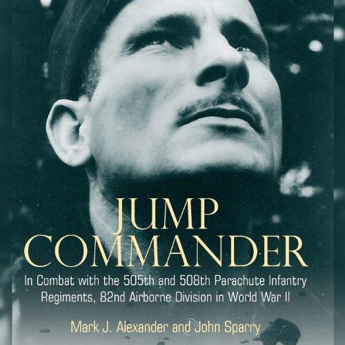 Jump Commander audiobook cover art