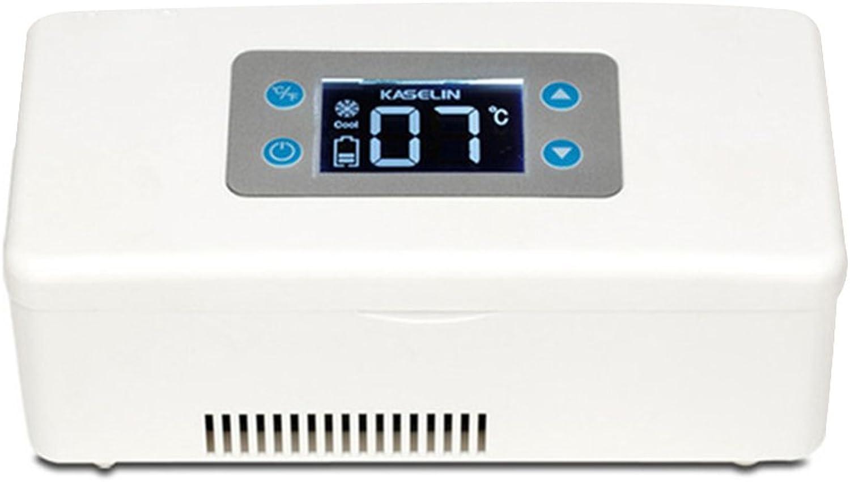 LIQICAI Portable Insulin Kühlschrank Erweitertes Temperaturkontrollsystem Auto 12V 230V