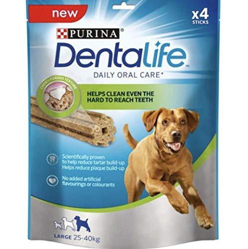 Dentalife Purina Large 142 gr Higiene Oral para perros – 5 paquetes de 142 gr
