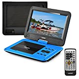 UEME DVD Player Portable with HD 10.1 Inches Swivel LCD Screen, Car...