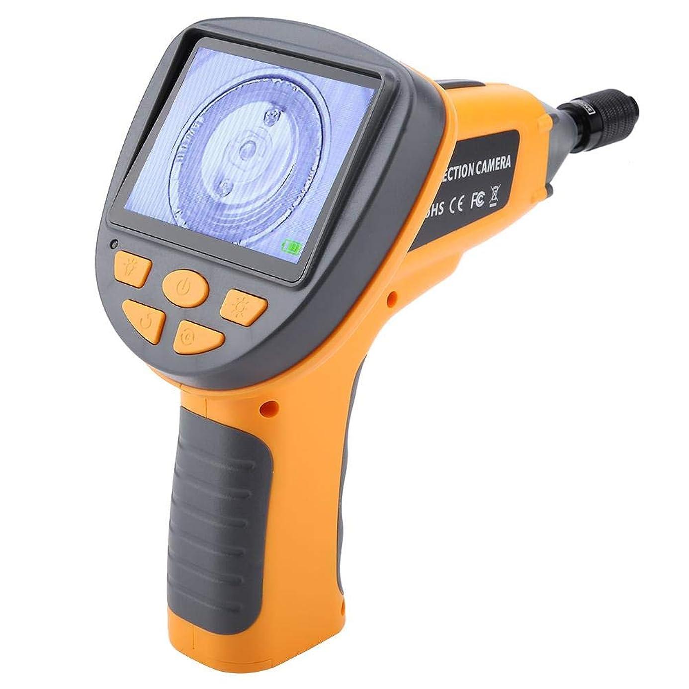 補体ロッジ偽善多機能内視鏡 ハンドヘルド防水内視鏡 99H 3.5インチTFTディスプレイスクリーン9.8mm 1M 6 LEDs 産業点検カメラ