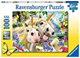 Ravensburger Unicorn Selfies Don't Worry, Be Happy 100 Piece Children's Jigsaw Puzzle for Kids Age 6 Years and up