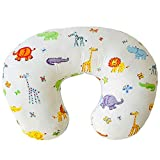 Nursing Pillow - Breastfeeding Pillow with 100% Organic Cotton Cover - Comfortable Ba