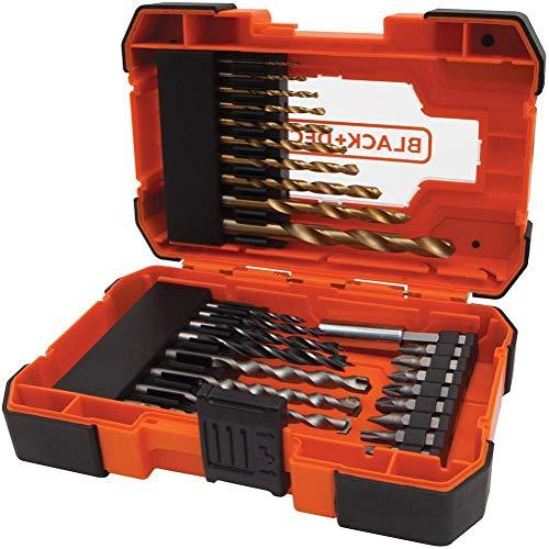Black + Decker A7235-XJ, Screwdriving/Hex Drill Bits, 27pcs, Orange