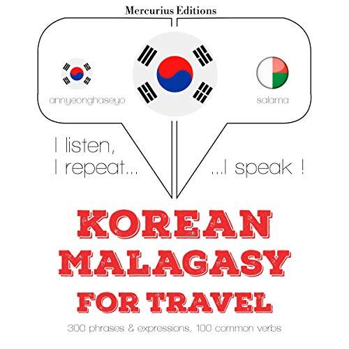 Korean – Malagasy. For travel cover art