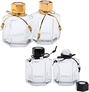 CUTICATE 4個 メイクアップボトル 香水ボトル 化粧ボトル コスメ 詰替え容器 旅行小物