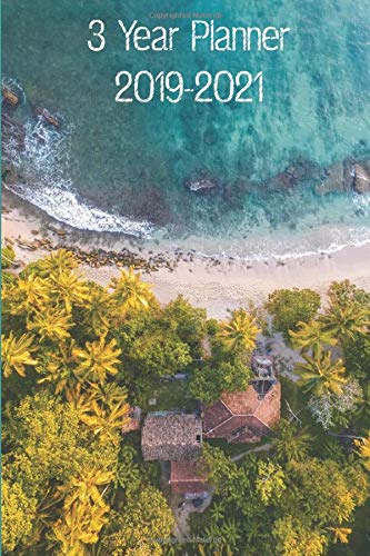 Drone Pilot's Compact and Convenient 3 Year Planner 2019-2021: 3 Year Planner 2019-2021 for Drone Enthusiasts