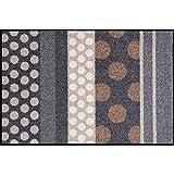 Salonloewe Wash+Dry Glamour Dots - Felpudo (50 x 75 cm), diseño de lunares