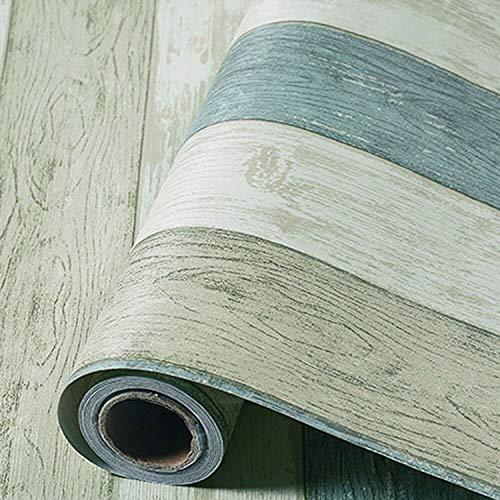 Fostudork Weihnachtsbaum-Wand-Aufkleber, Selbstklebende Retro Zeitung Tapete Weinlese-beige PVC Vinyltapete Aufkleber Rolle Für Wohnzimmer-Schlafzimmer-Wandhinter, B, 60cmx3m