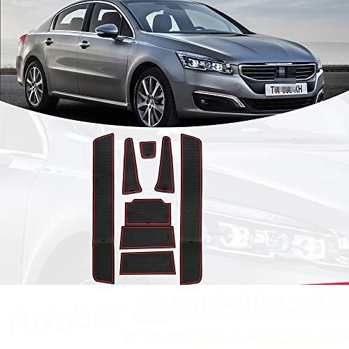 , para automóvil, para Peugeot 508 sw RXH 2011~2018 Alfombrilla de Goma...