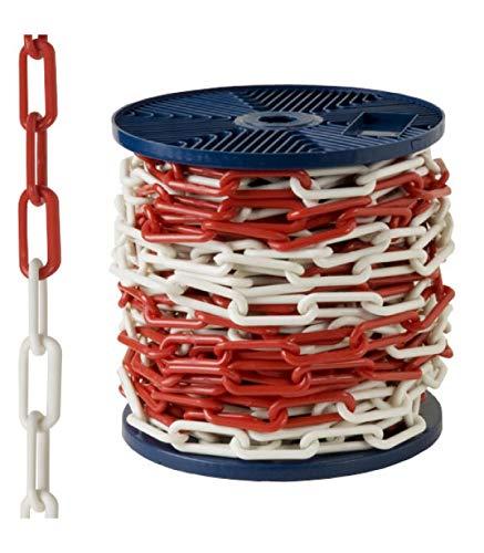 AFT - Plastikkette, Zweifarbig, 6 mm, Rolle mit 25 m