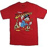 Men's Disney Duck Tales Scrooge MCDUCK TEE Red Heather