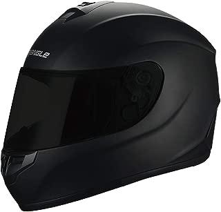 "Triangle Motorcycle Helmets Full Face ""Graffiti Cross"" Street Bike [DOT] (Medium, Matte Black)"