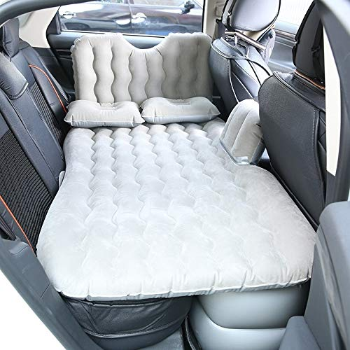 Wei Hongyu Universal Car Travel Inflatable Mattress Air Bed Camping Back Seat Couch, Size: 90 x 135cm(Black) (Color : Grey)