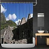 マチュピチュインカ文明風光明媚な家遺跡、ペルーのクスコ地方の山のシャワーカーテン、フック付きの023457、36 ' ' W X 72 f66a875849d10e9106c107107d6e109691071069f6107c6107c6107c6107c61076c6107c6107c6107c6107c6107c6107c6107c6107c6107c6107c6107c6107c6107c6107c6107c1 200X180 CM
