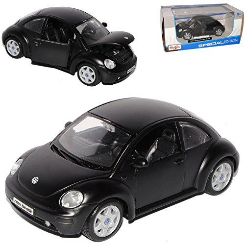 VW Volkswagen escarabajo Coupe Matt Schwarz Modellcarsonline 1//32 coche de modelo o...