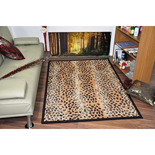 Wildlife Safari Animal Print Rug Carpet 16 Design Leopard.