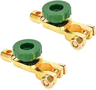 Happy reunion Battery Disconnect Switch 2 Pcs Battery Terminal 300A Battery Master Disconnect Switch Battery Cut Off Switch for Car Truck Boat Auto Vehicle Parts