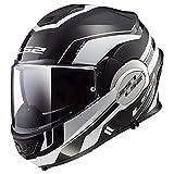 LS2 Helmets Modular Valiant Helmet (Lumen Matte-Gloss - 2X-Large)