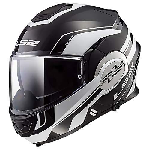 LS2 Helmets Modular Valiant Helmet (Lumen Matte-Gloss - Large)