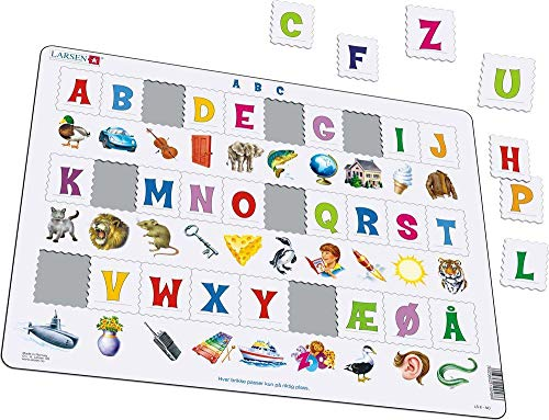 Puzzlespaß mit Buchstaben
