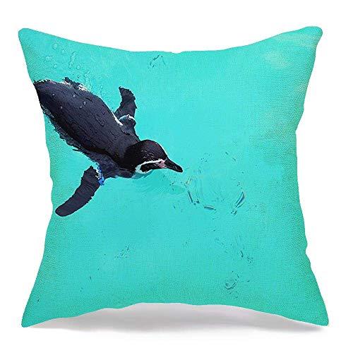 Csoos Kissenbezug Tokio Japan Okt Am Teich 1 Aquarium Humboldt Pinguine Tiere Wildparks Outdoor Tourist Ocean Kissenbezug