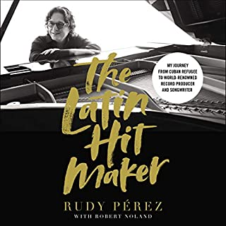 The Latin Hit Maker audiobook cover art