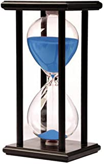 Hourglass Timer for 60 Minutes Sandglass Timer for Kitchen Living Room Home Office Desk Bedroom Party Festival Coffee Tabl...